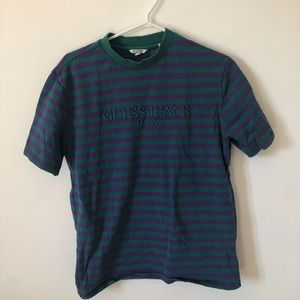 Other - A$AP Rocky x Guess vintage striped tee